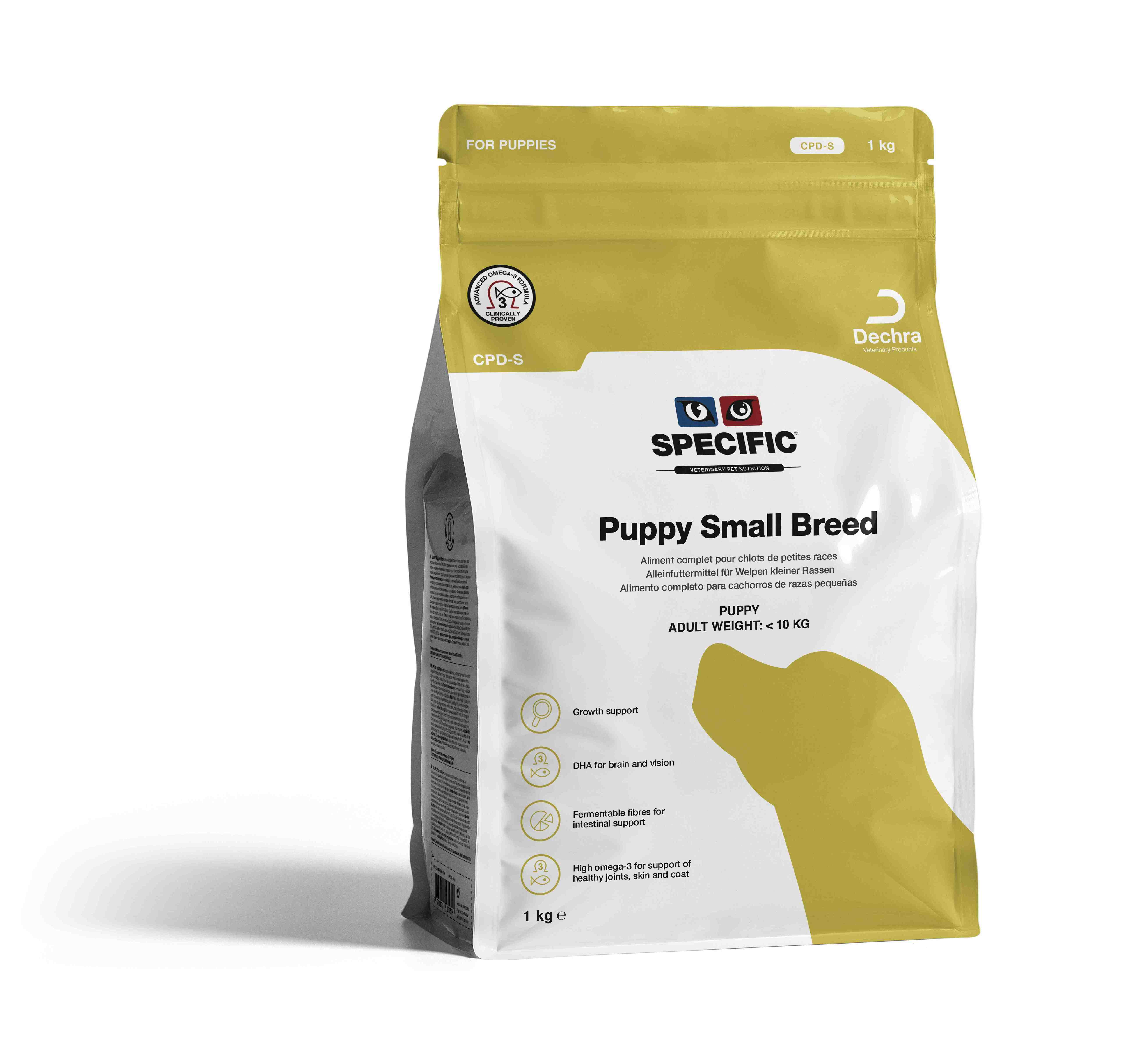 Puppy Small Breed CPD-S - 1 kg