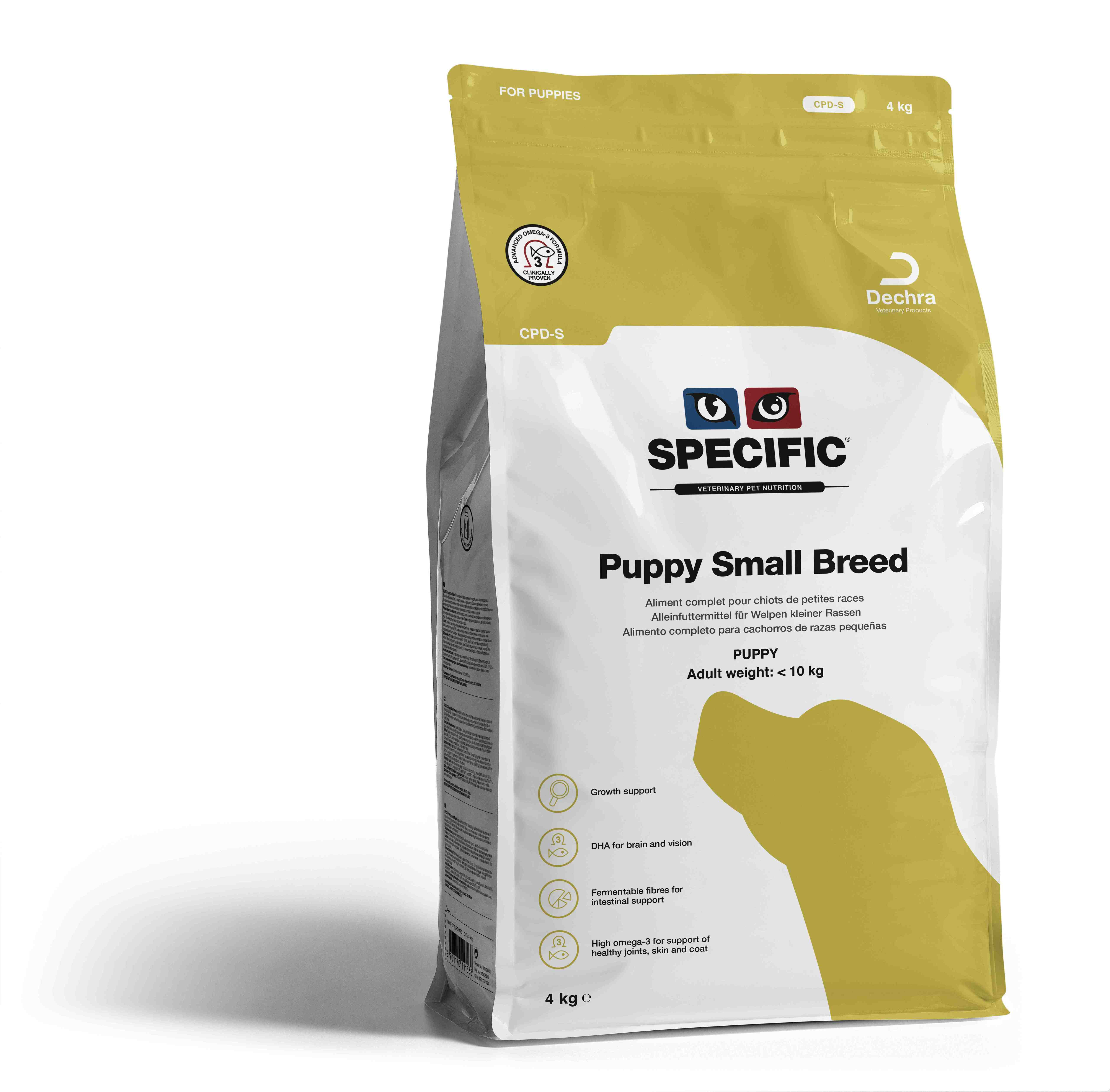 Puppy Small Breed CPD-S - 4 kg