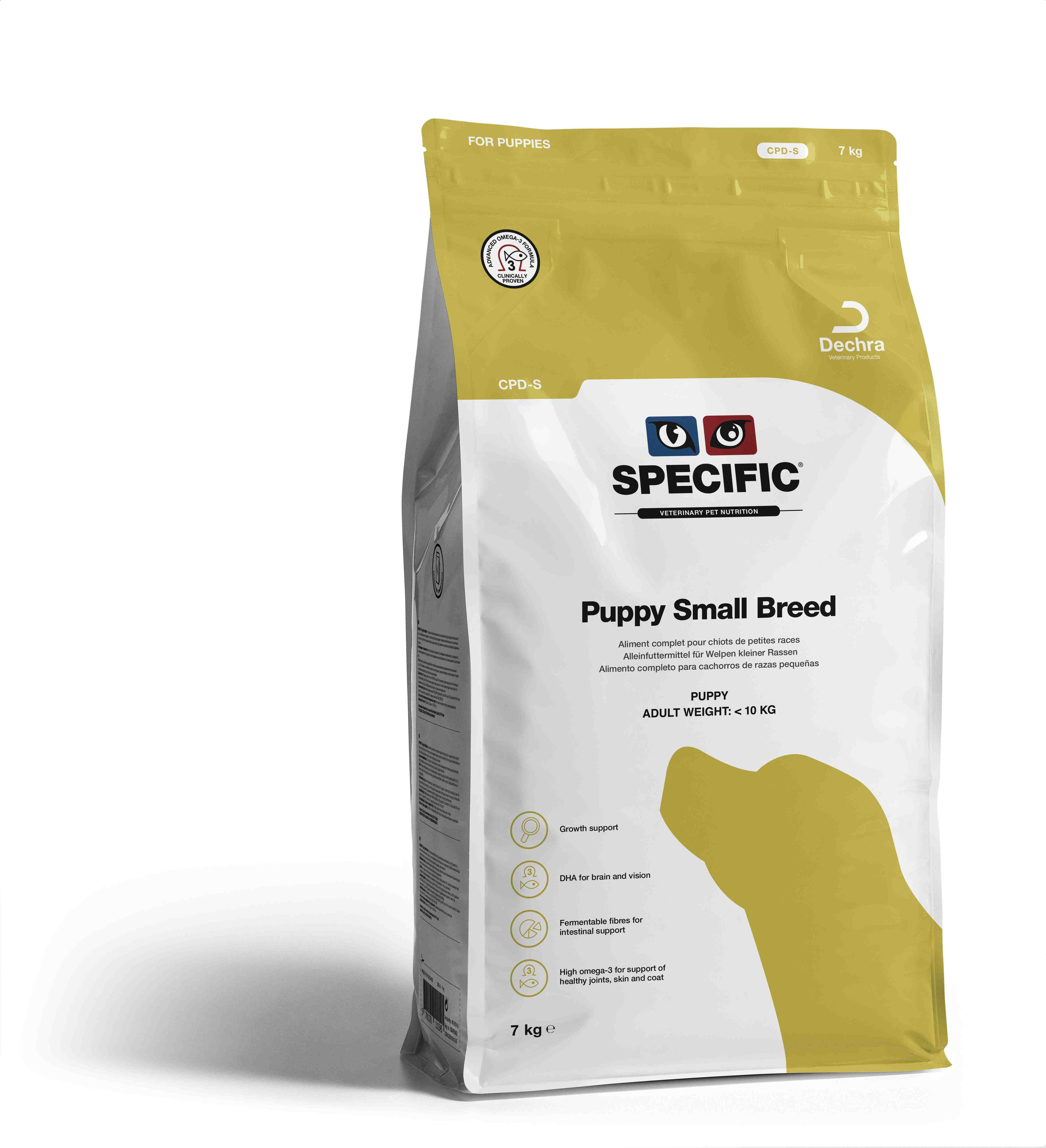 Puppy Small Breed CPD-S - 7 kg