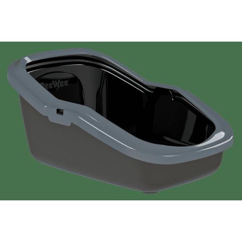 PeeWee Ecominor Kattlåda - Antracit/Grå