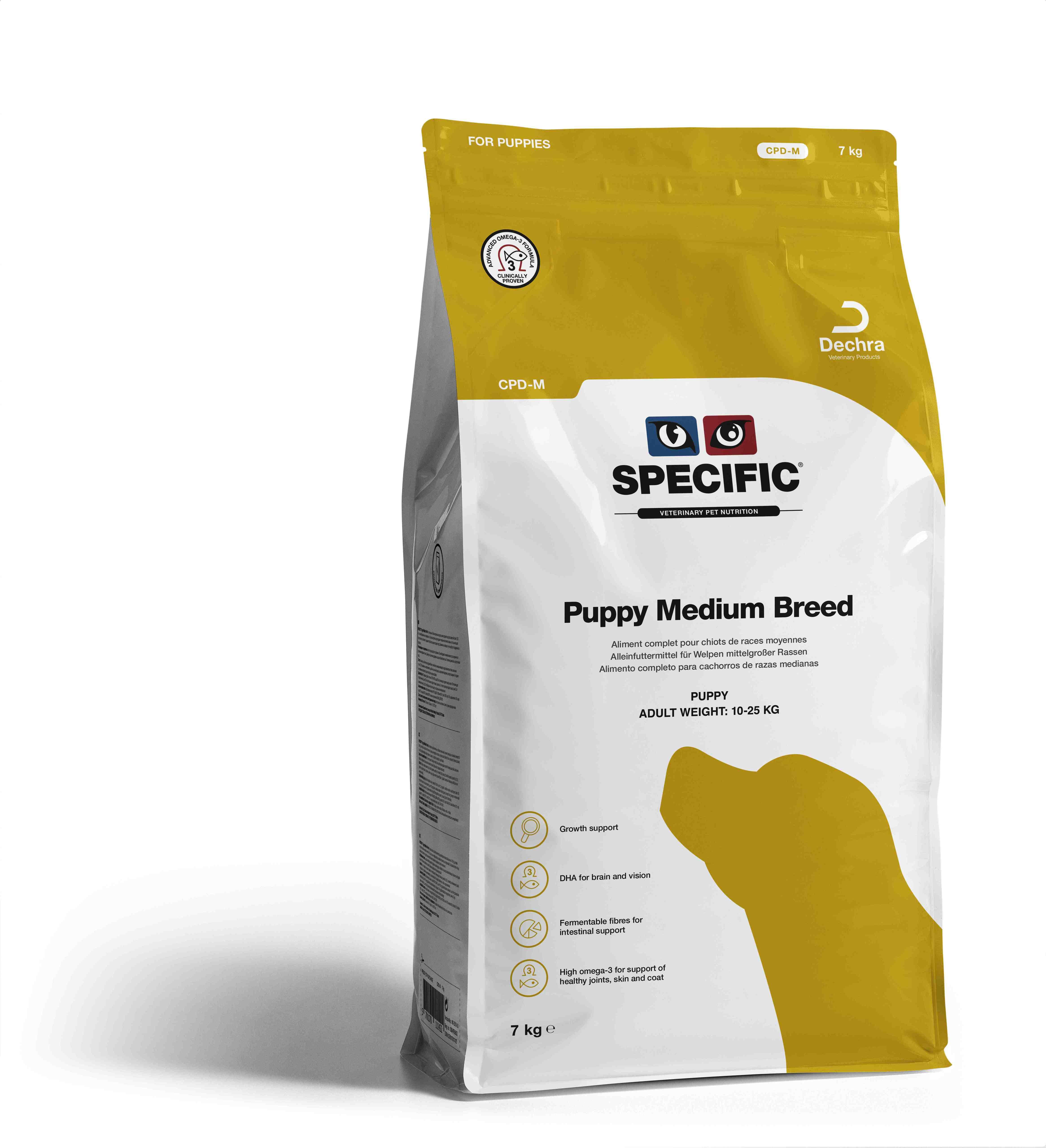 Puppy Medium Breed CPD-M - 7 kg