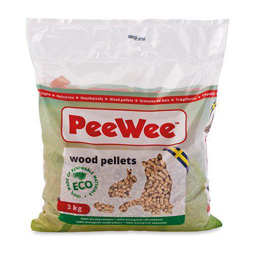 PeeWee Träpellets - 5 L / 3 kg