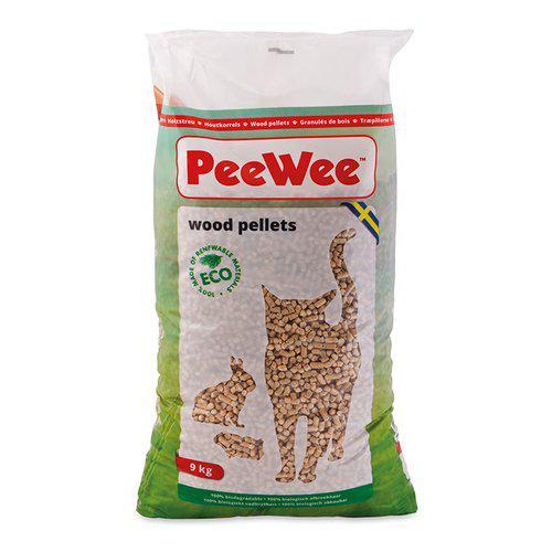 PeeWee Träpellets - 14 L / 9 kg