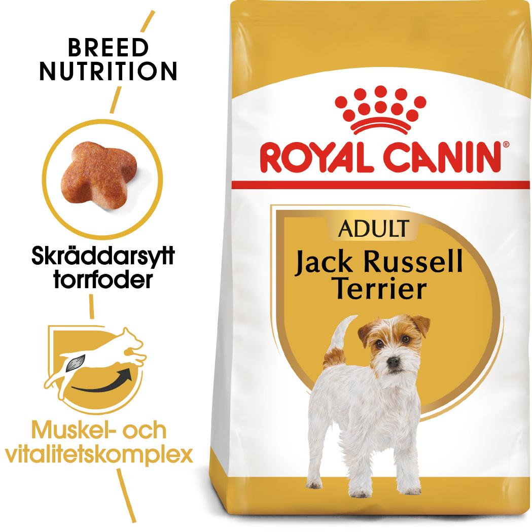 Jack Russell Adult Torrfoder för hund