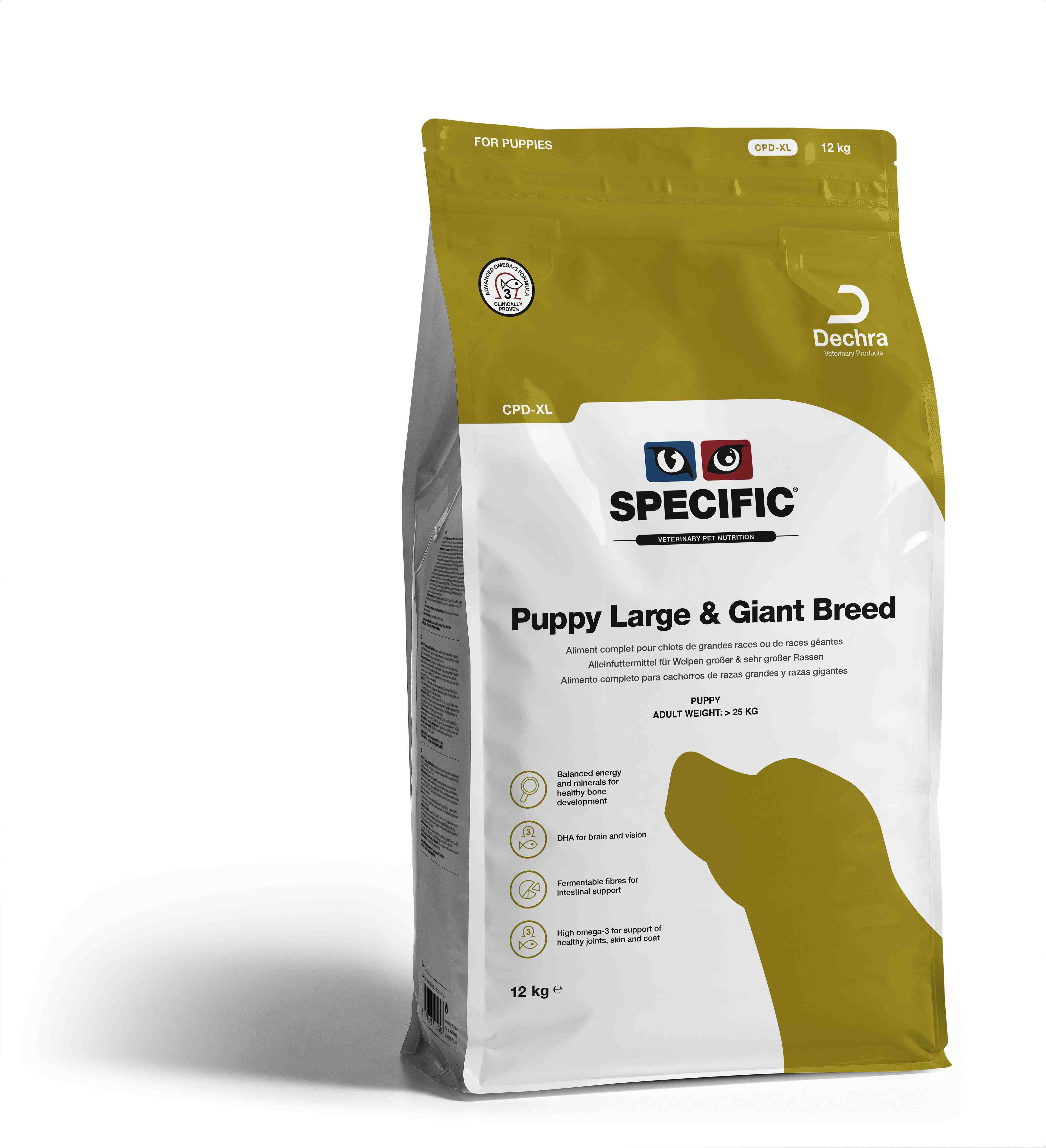 Puppy Large & Gigant Breed CPD-XL - 12 kg
