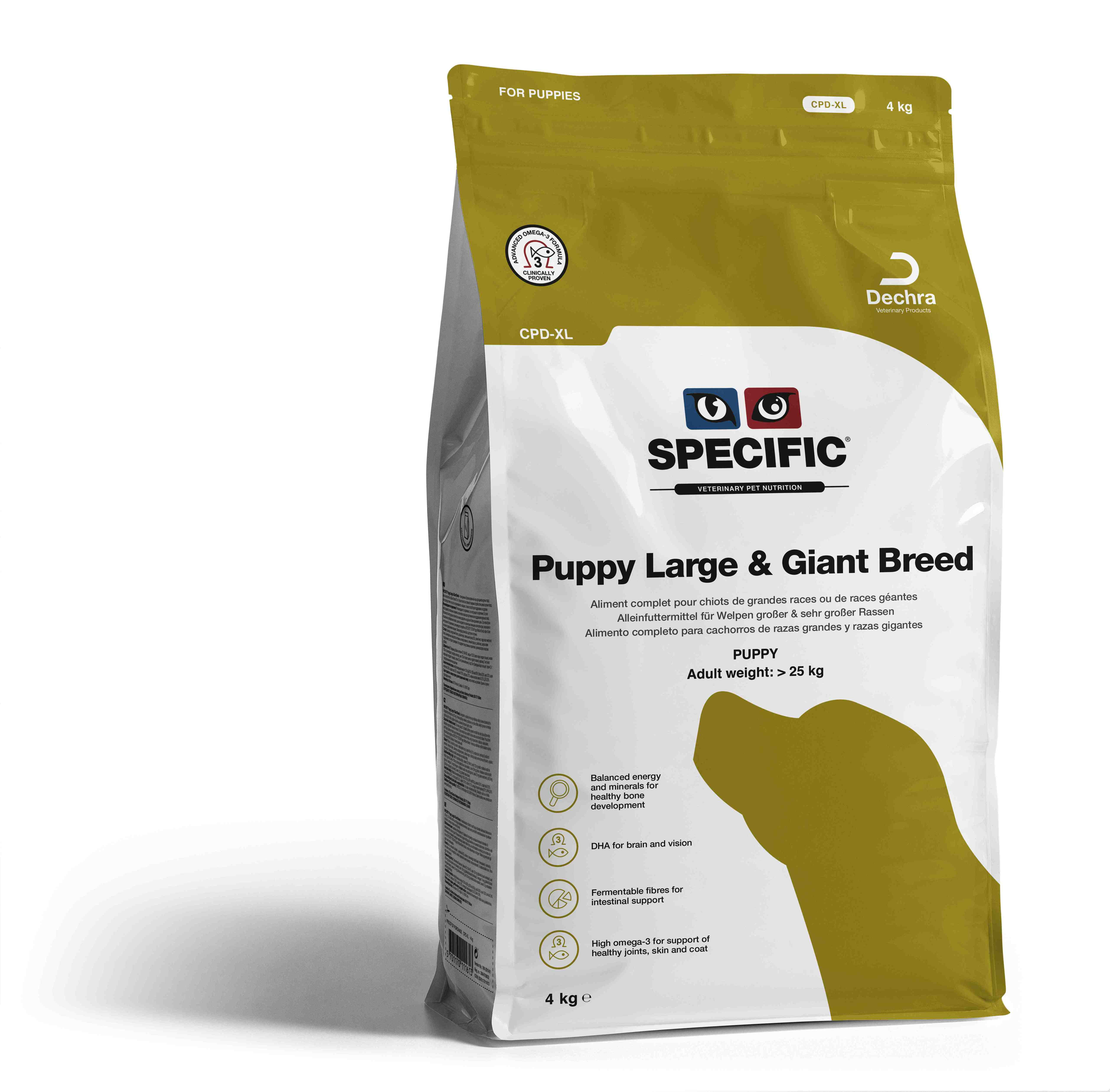 Puppy Large & Gigant Breed CPD-XL - 4 kg