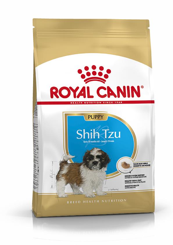 Shih Tzu Puppy Torrfoder för hundvalp