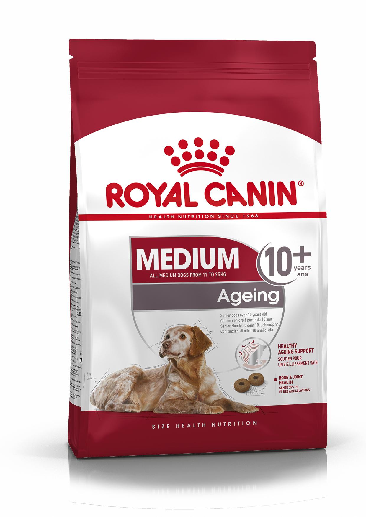 Medium Ageing 10+ Torrfoder för hund