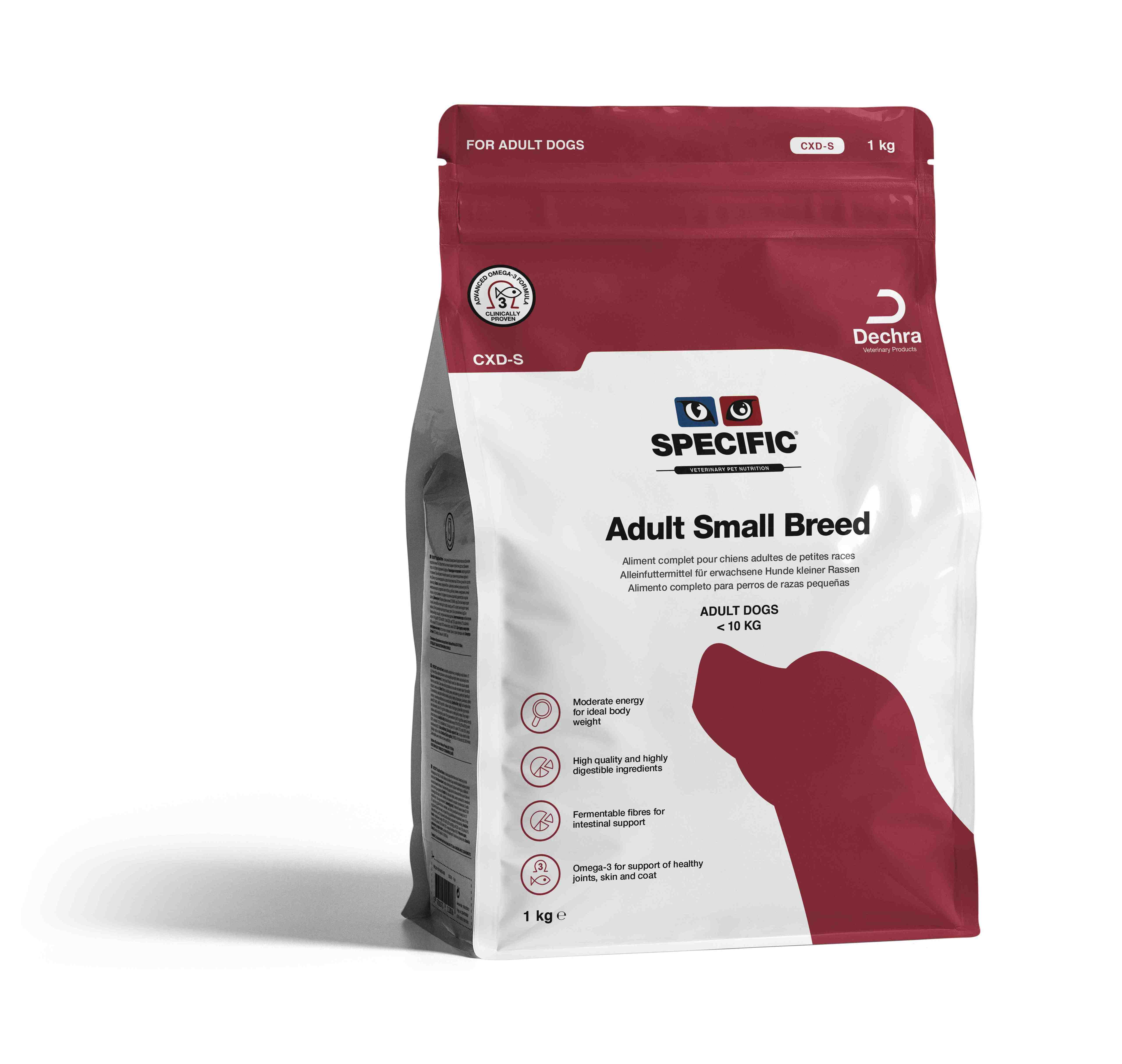 Adult Small Breed CXD-S - 1 kg