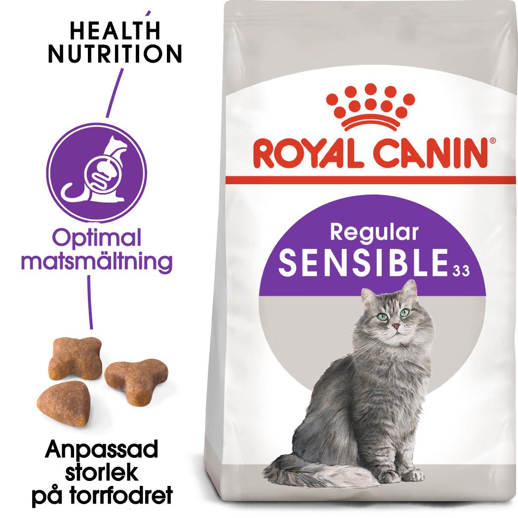 Sensible 33 Adult Torrfoder för katt