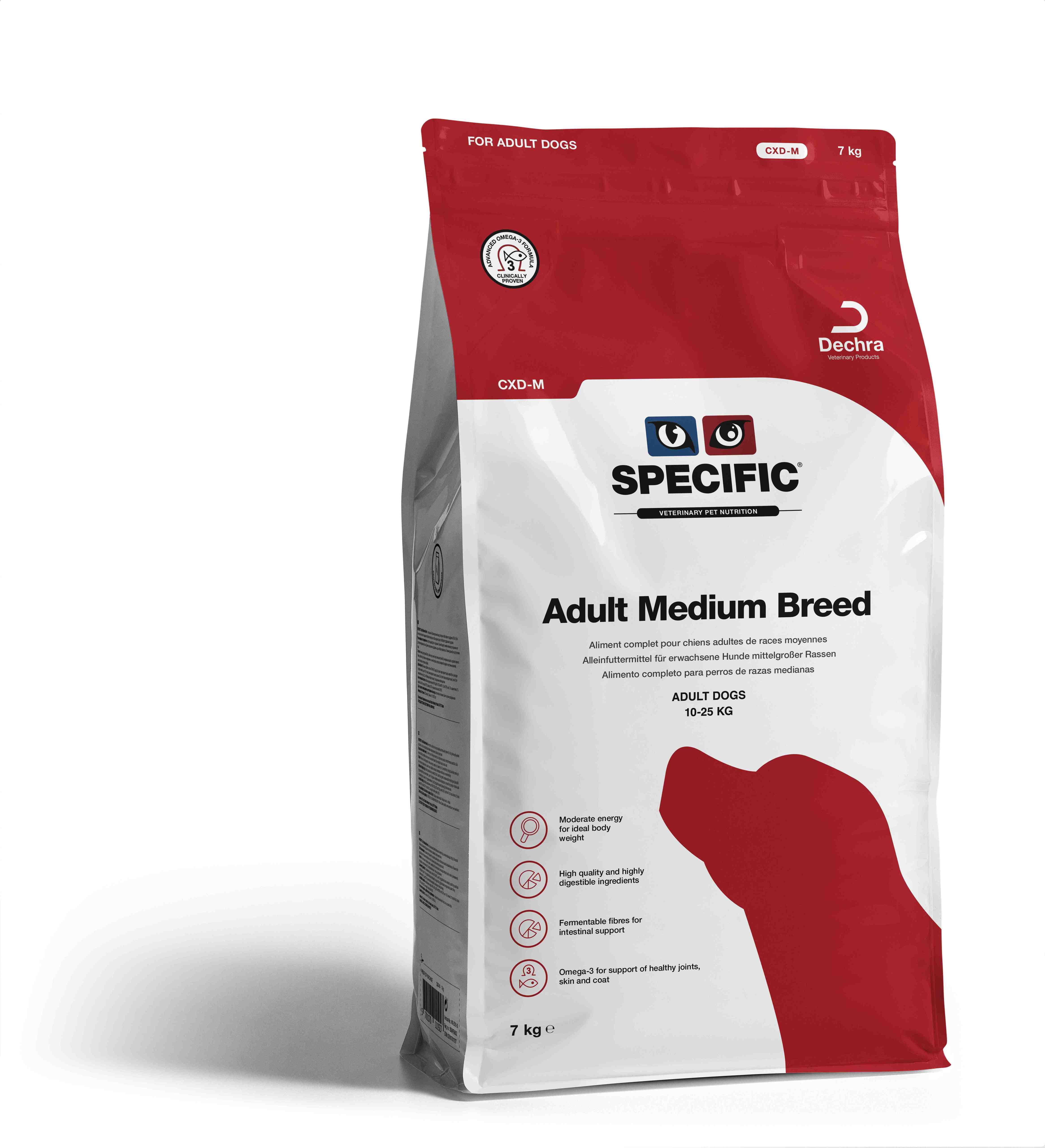 Adult Medium Breed CXD-M - 7 kg