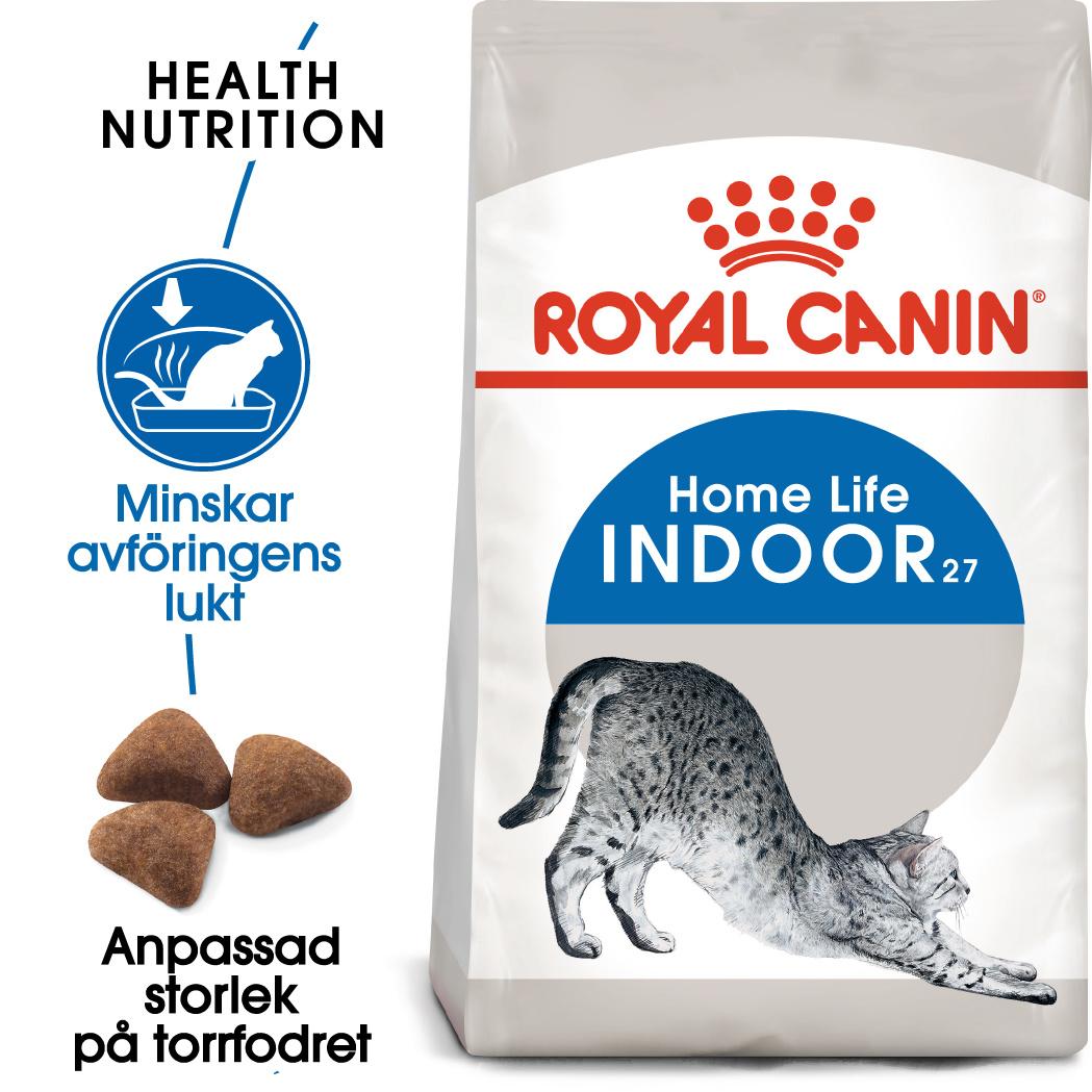 Indoor 27 Adult Torrfoder för katt