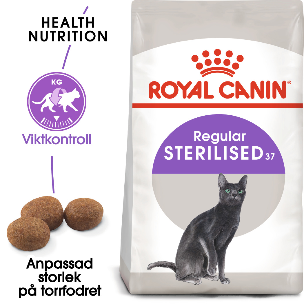 Sterilised 37 Adult Torrfoder för katt