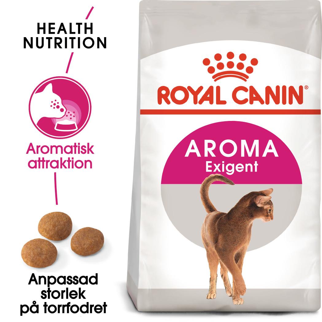 Aroma Exigent Adult Torrfoder för katt