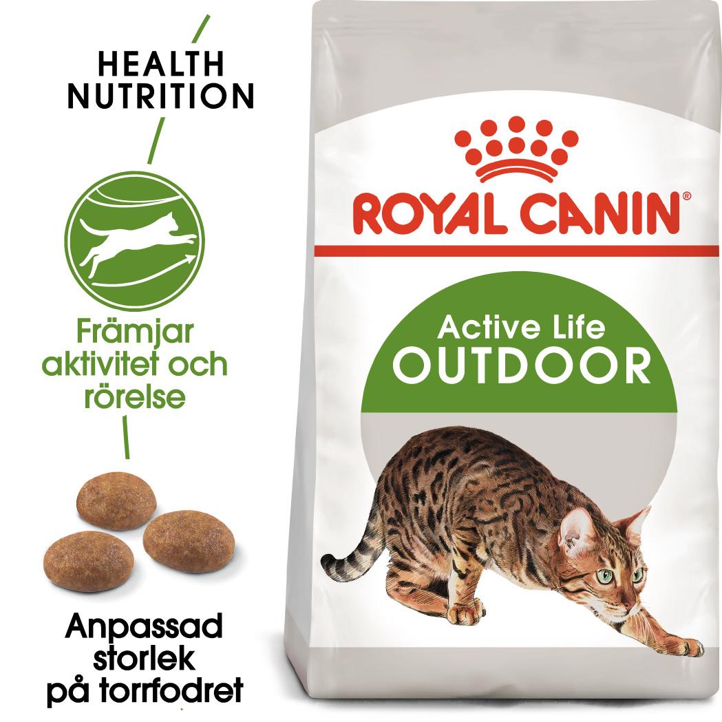Outdoor Adult Torrfoder för katt