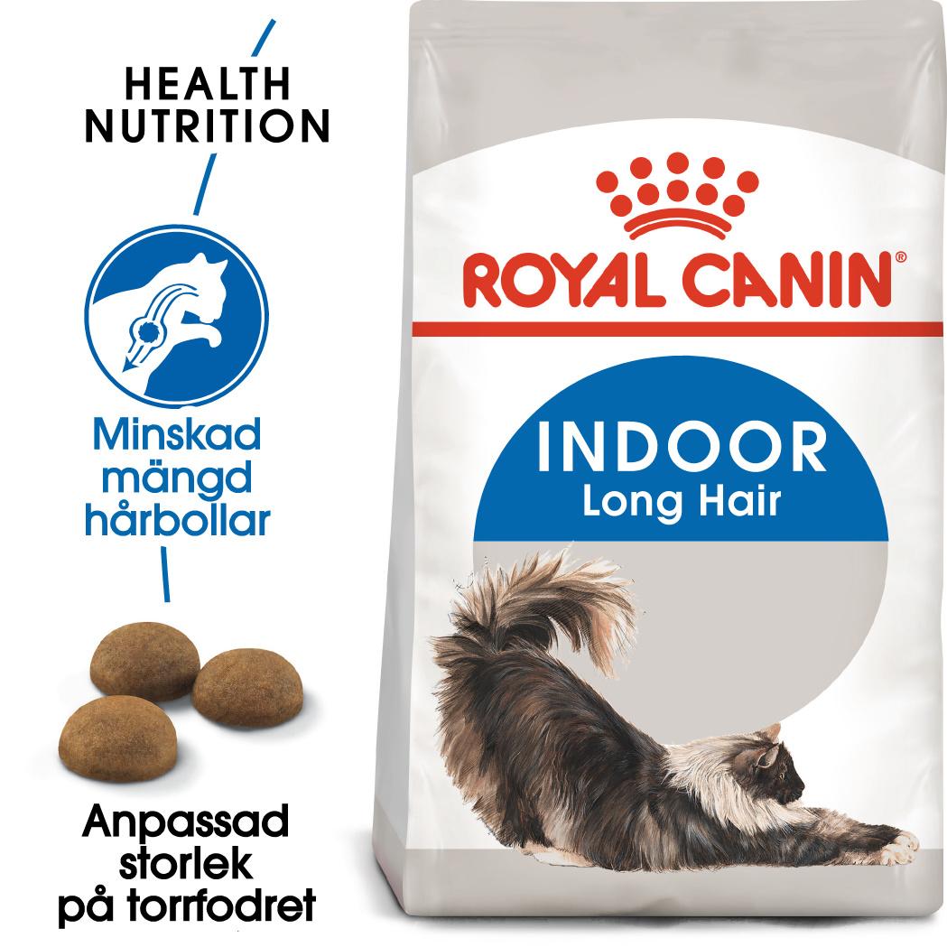 Indoor Long Hair Adult Torrfoder för katt