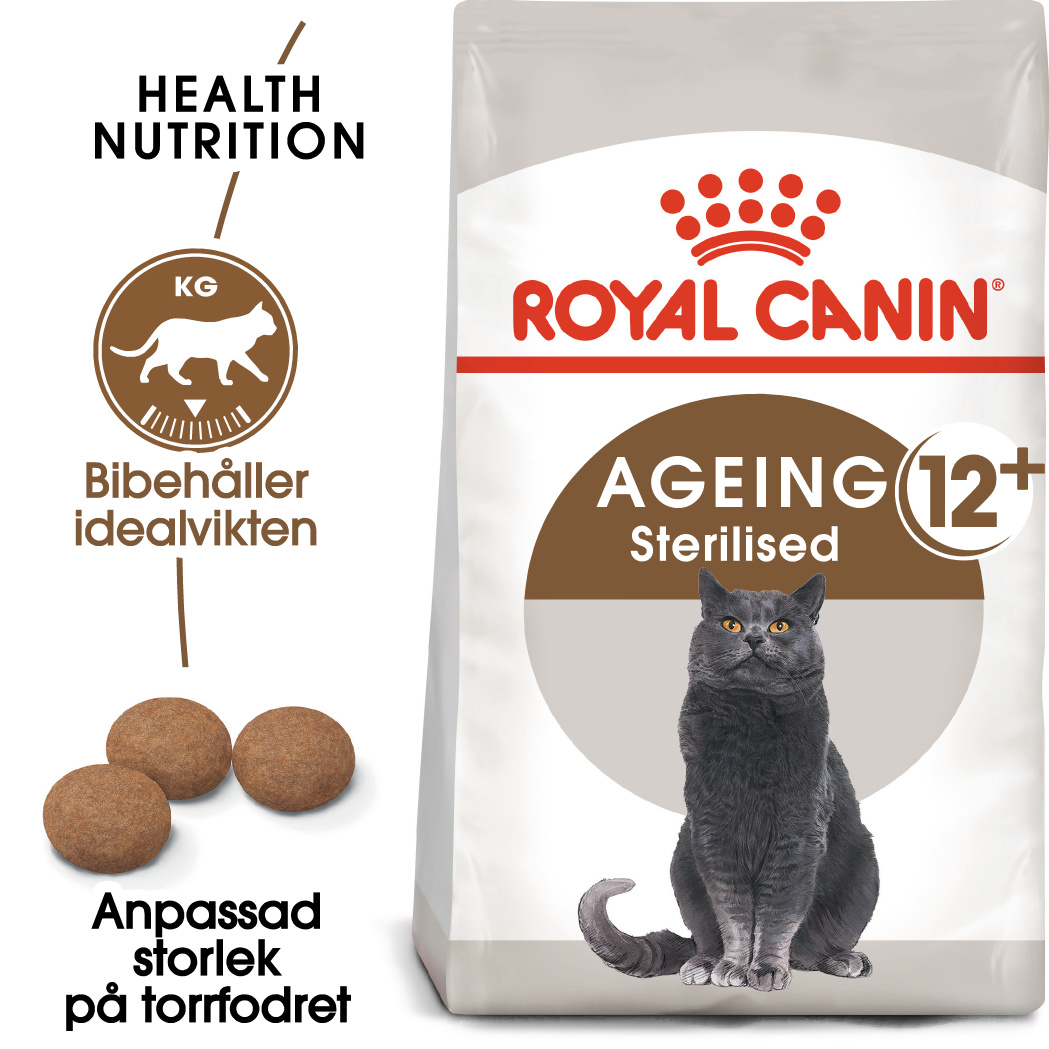 Sterilised Ageing 12+ Torrfoder för katt