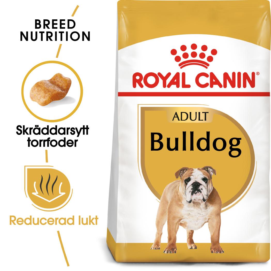 Bulldog Adult Torrfoder för hund