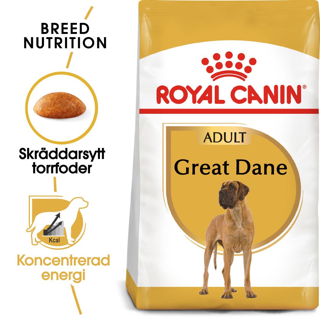 Great Dane Adult Torrfoder för hund
