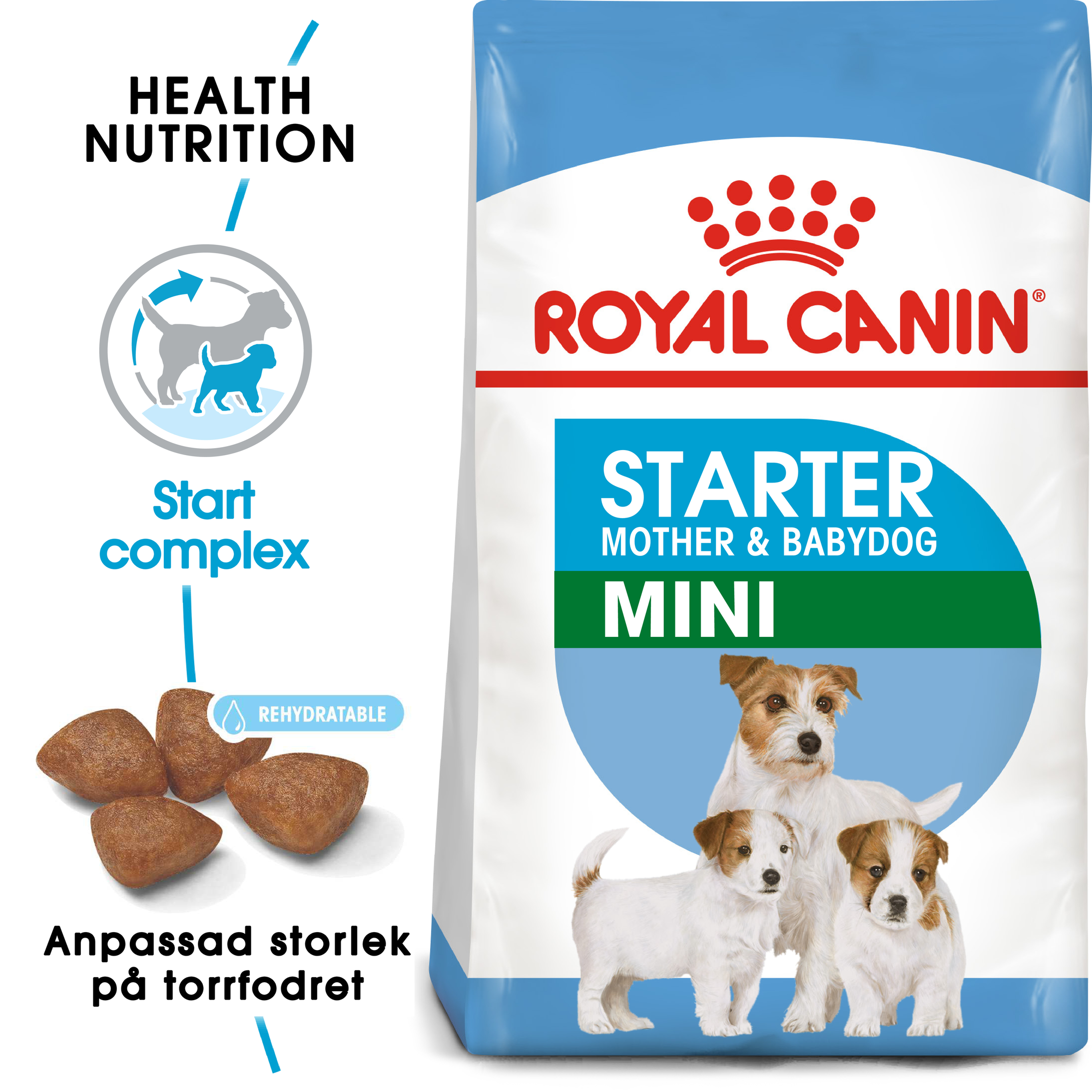 Mini Starter Torrfoder för hund