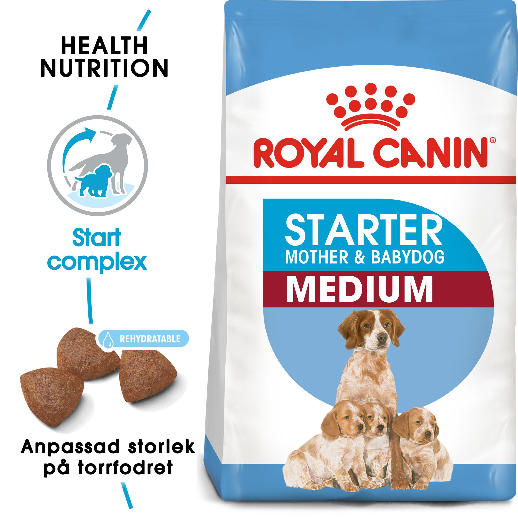 Medium Starter Torrfoder för hund