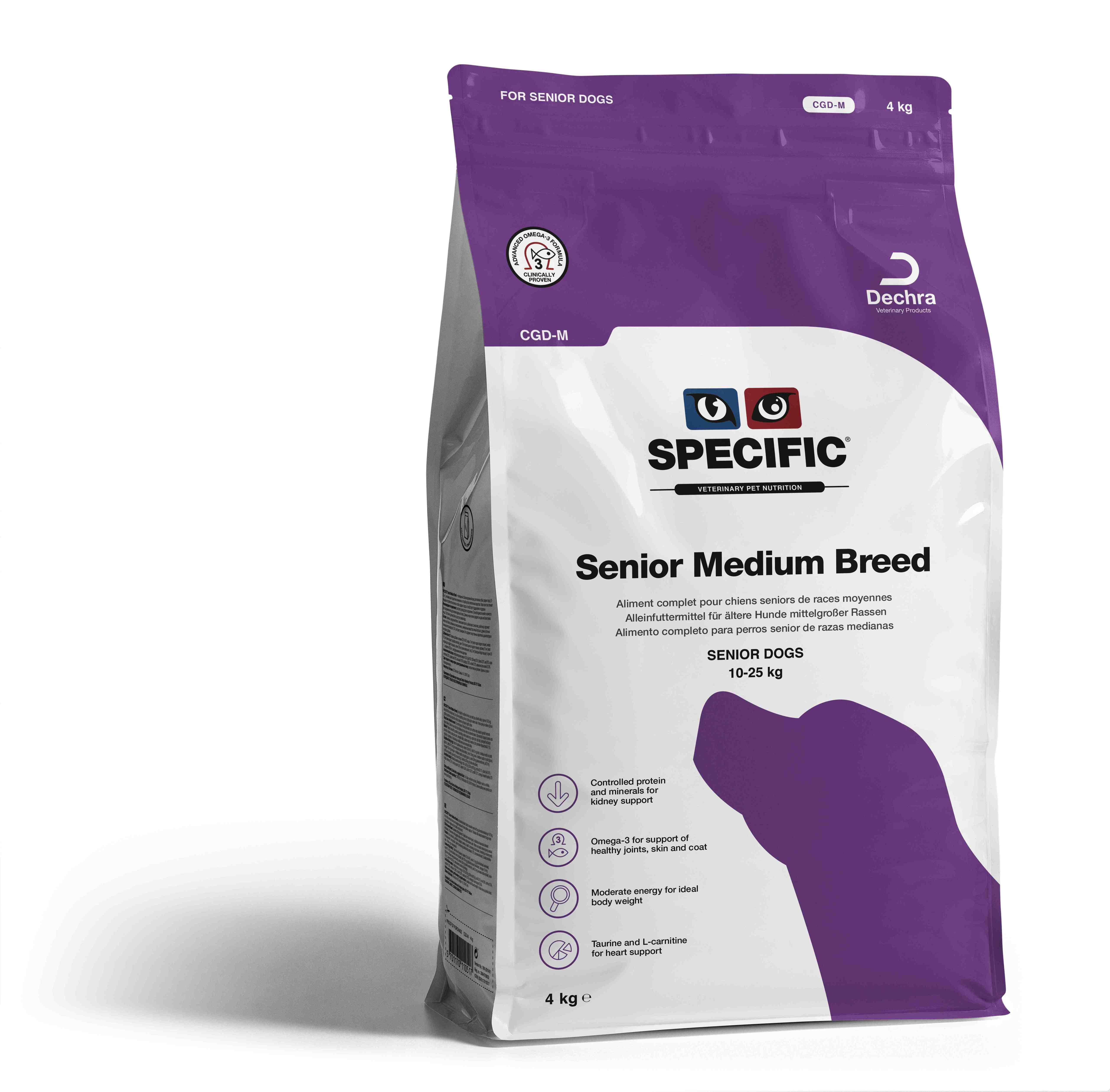 Senior Medium Breed CGD - 4 kg