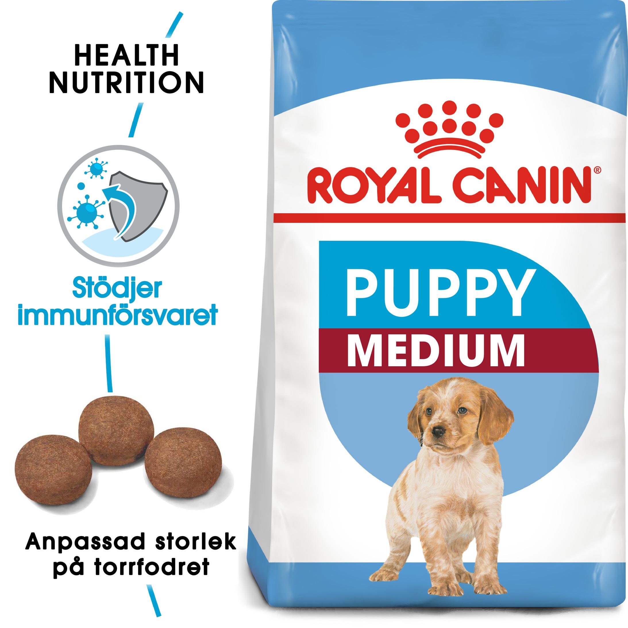 Medium Puppy Torrfoder