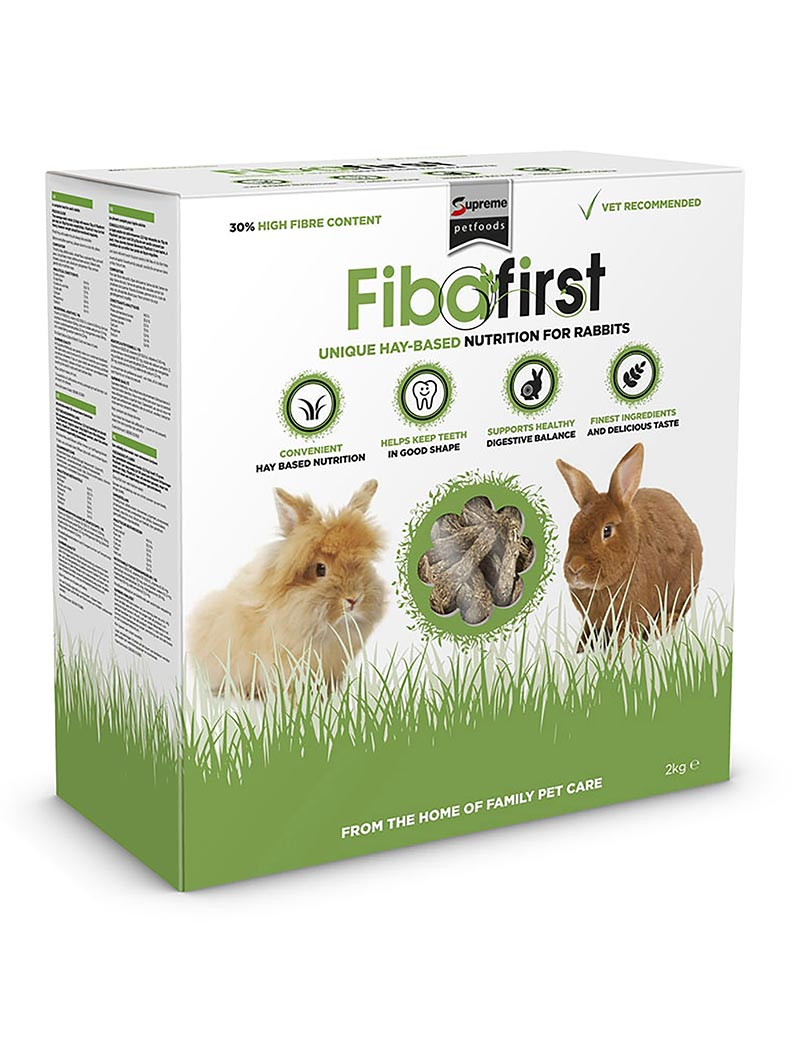 Fibafirst Kaninfoder - 2 kg
