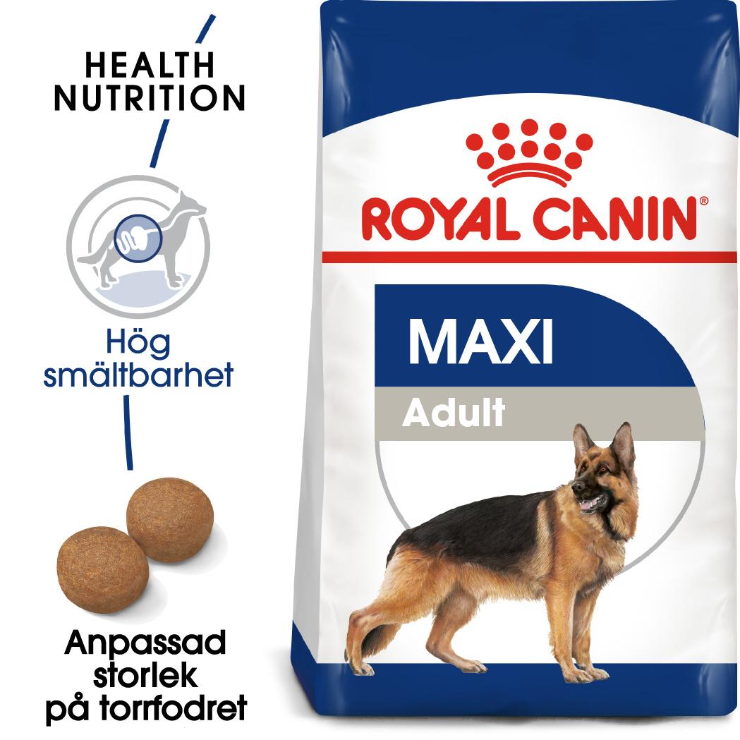 Maxi Adult Torrfoder för hund