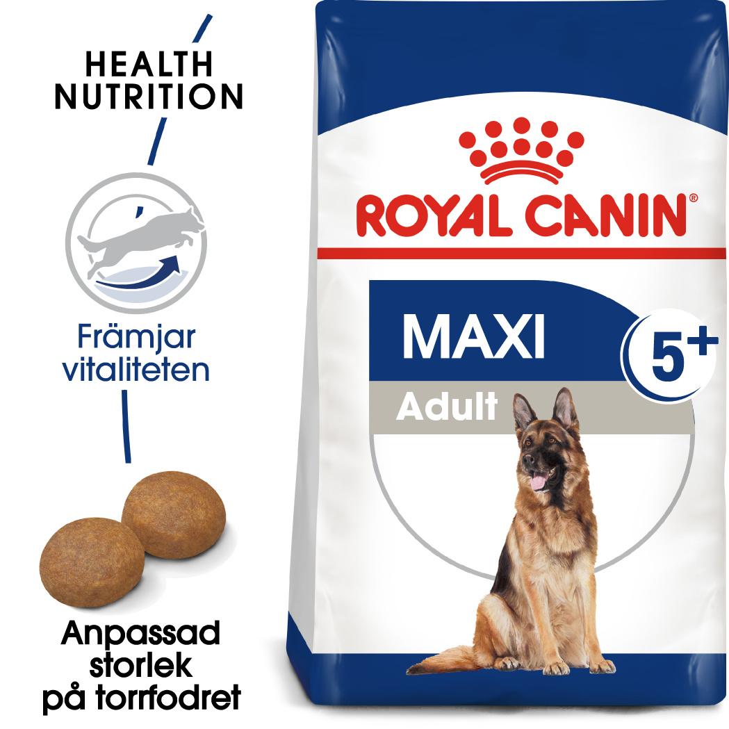 Maxi 5+ Adult Torrfoder för hund