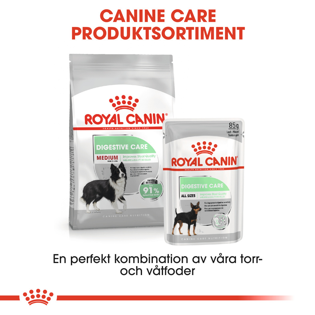 Digestive Care Adult Medium Torrfoder för hund