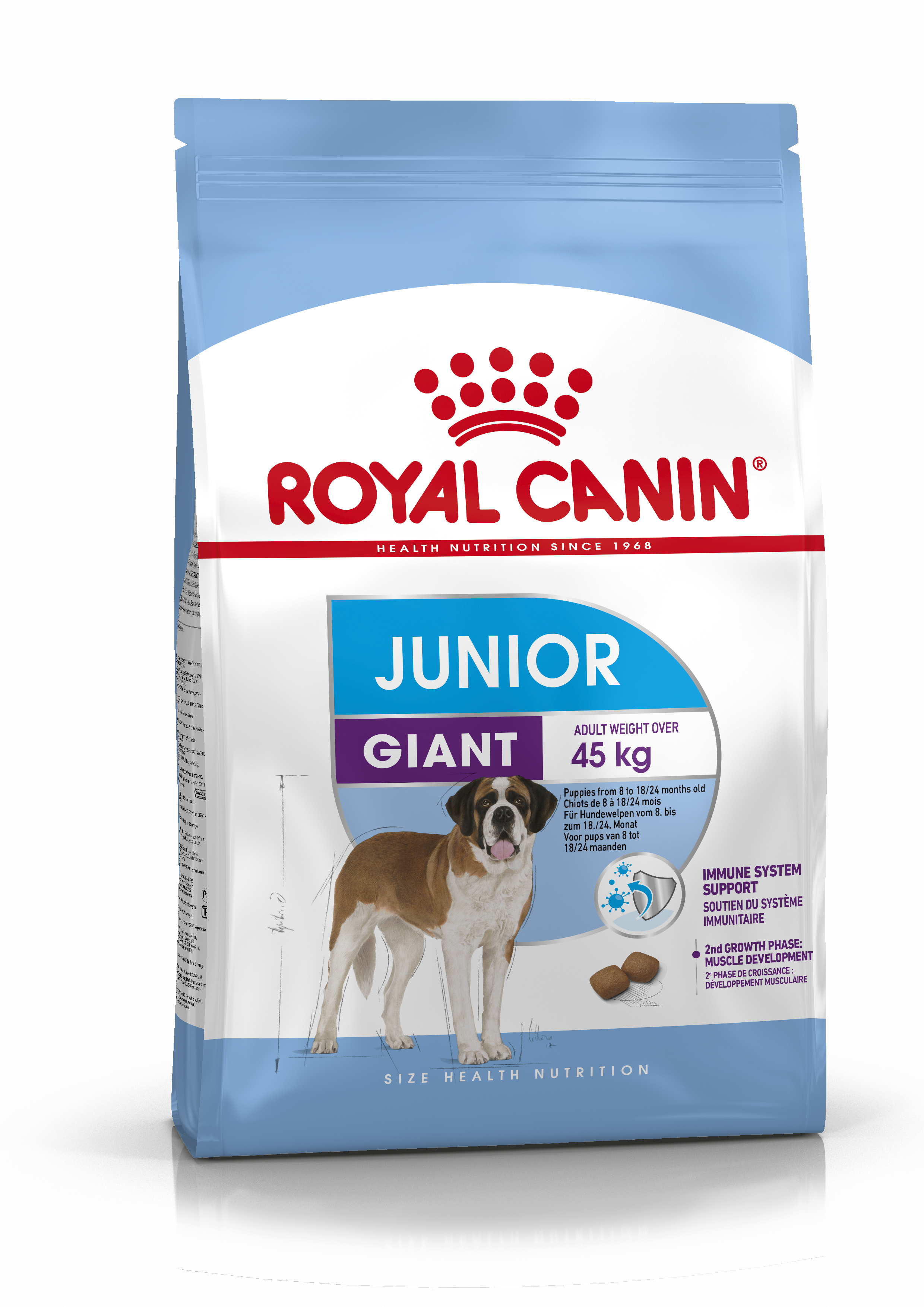 Giant Junior Torrfoder för hundvalp