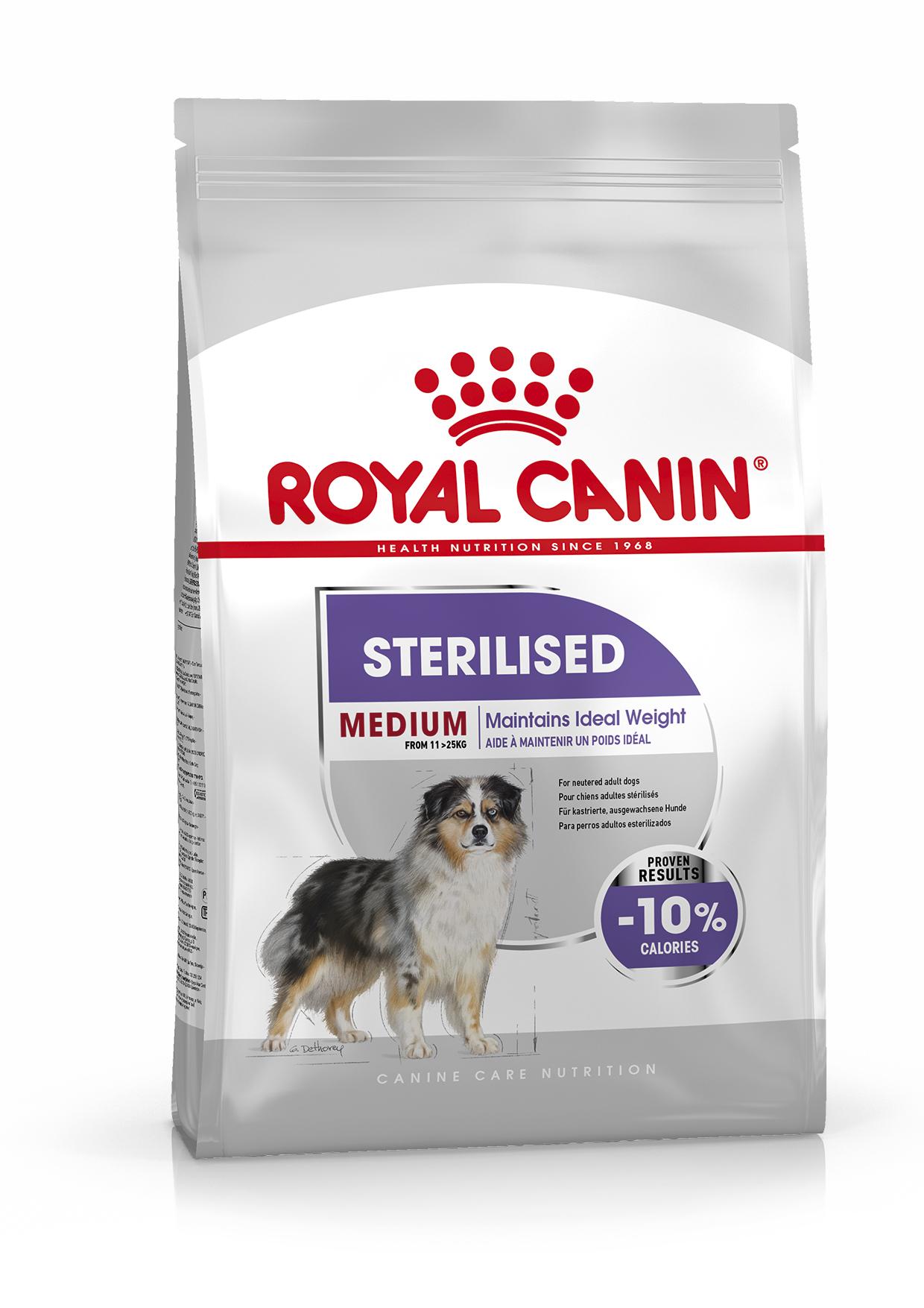 Sterilised Adult Medium Torrfoder för hund