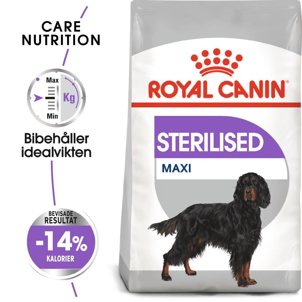 Sterilised Adult Maxi Torrfoder för hund