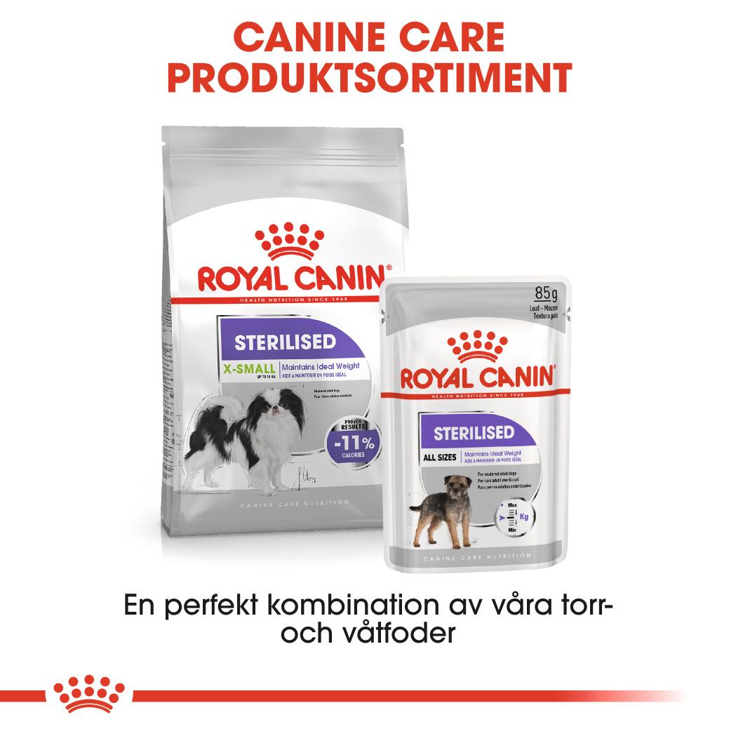 Sterilised X-Small Adult Torrfoder för hund