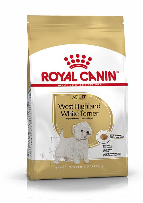West Highland White Adult Torrfoder för hund