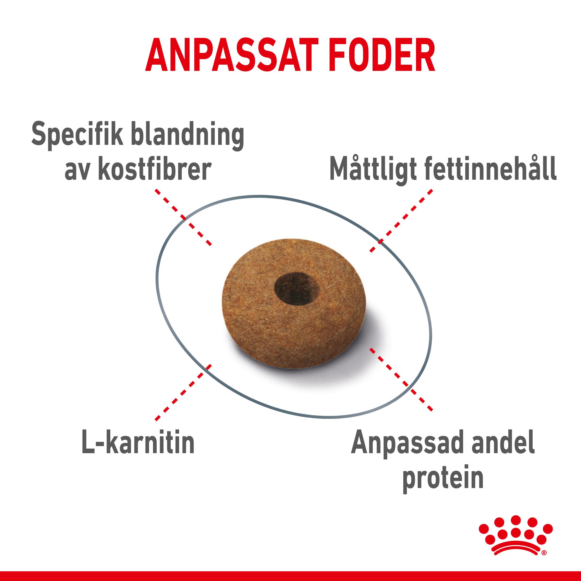 Appetite Control Sterilised Adult Torrfoder för katt