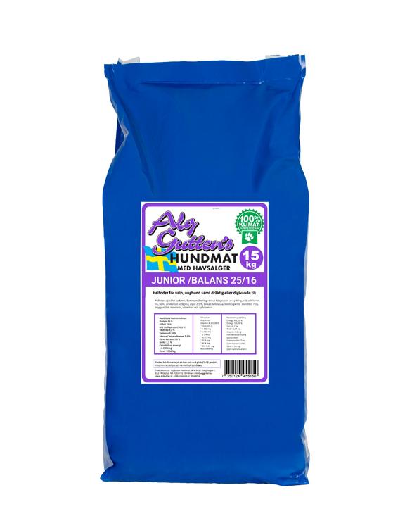 Junior Balans Hundfoder - 15 kg