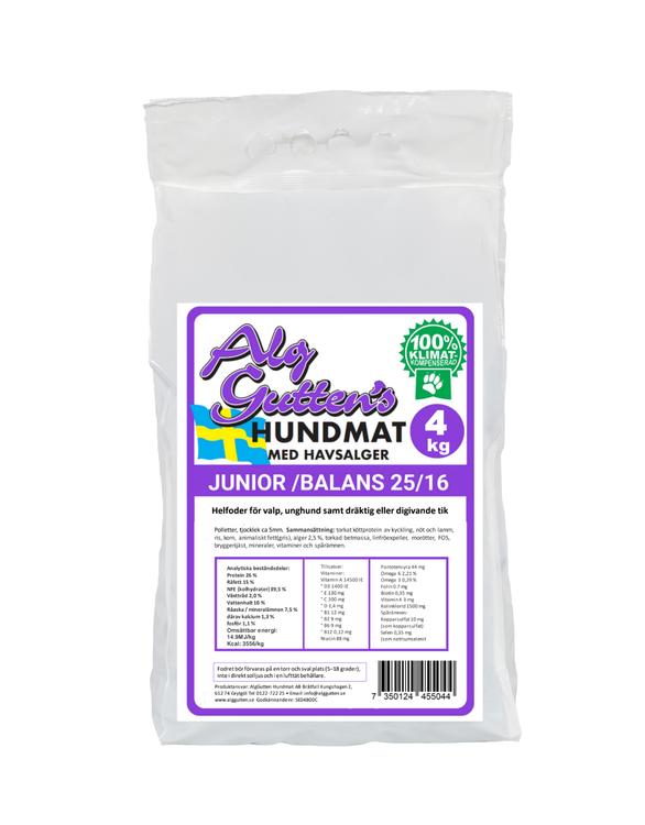 Junior Balans Hundfoder - 4 kg
