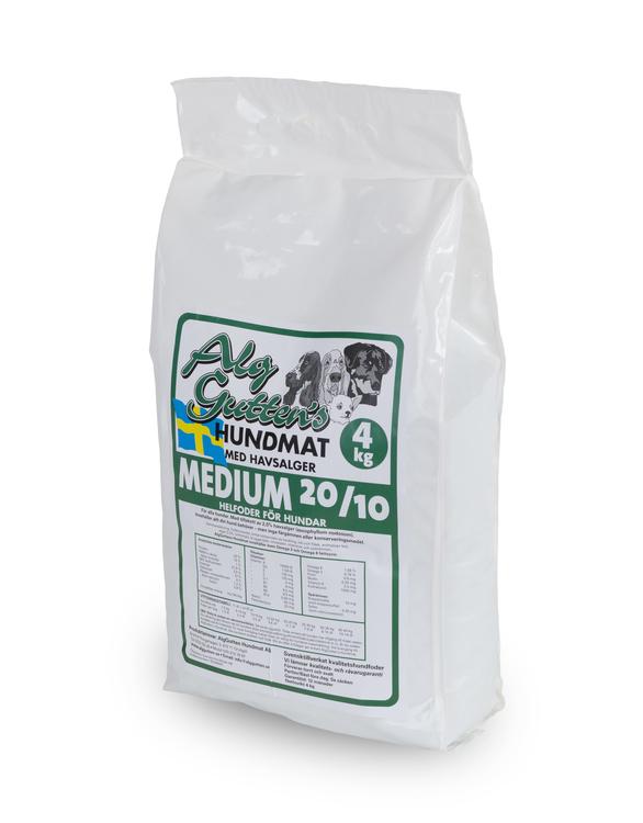 Medium 20/10 Hundfoder - 4 kg