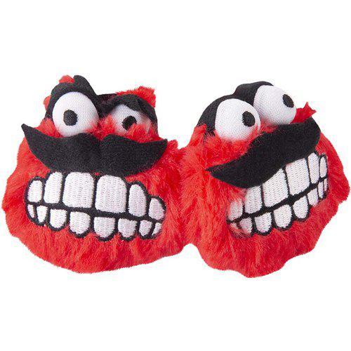 Plush Fluffy Grinz 2-pack - Röd
