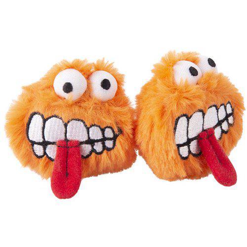 Plush Fluffy Grinz 2-pack - Orange