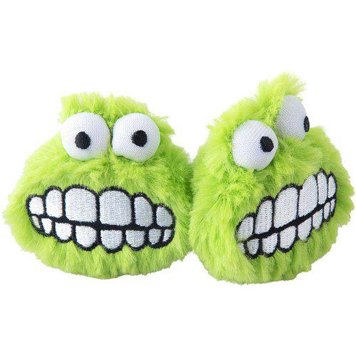 Plush Fluffy Grinz 2-pack - Grön