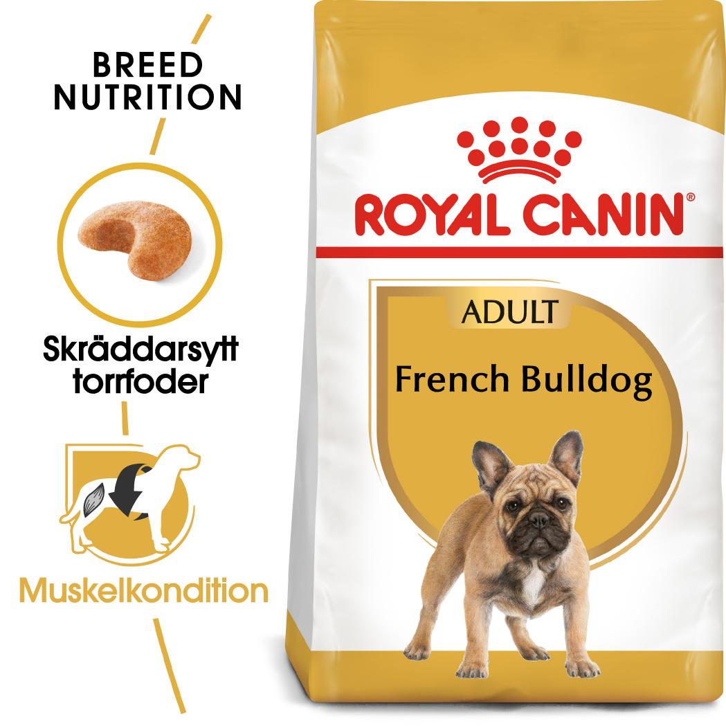 French Bulldog Adult Torrfoder för hund