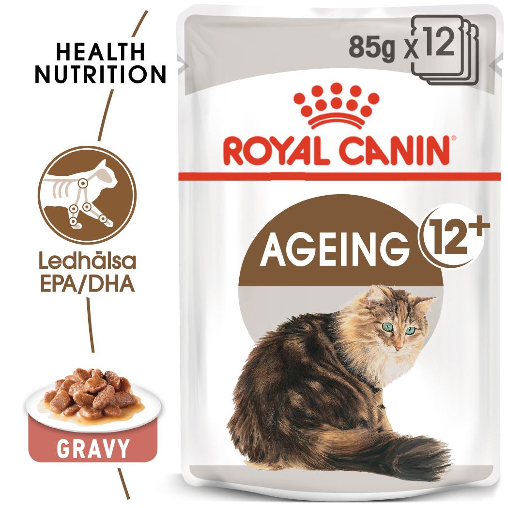Ageing Gravy 12+ Våtfoder för katt