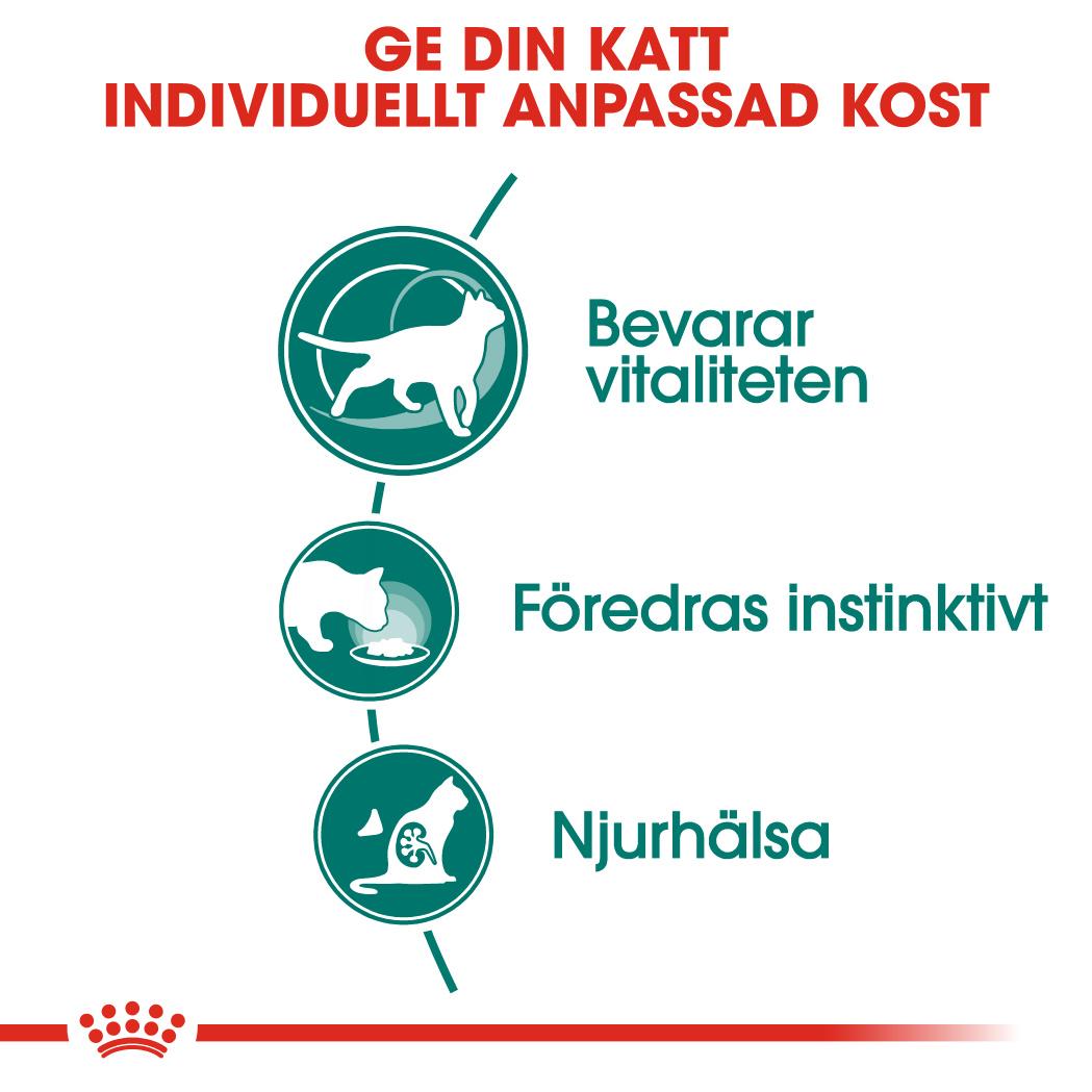 Instinctive 7+ Gravy Ageing Våtfoder för katt