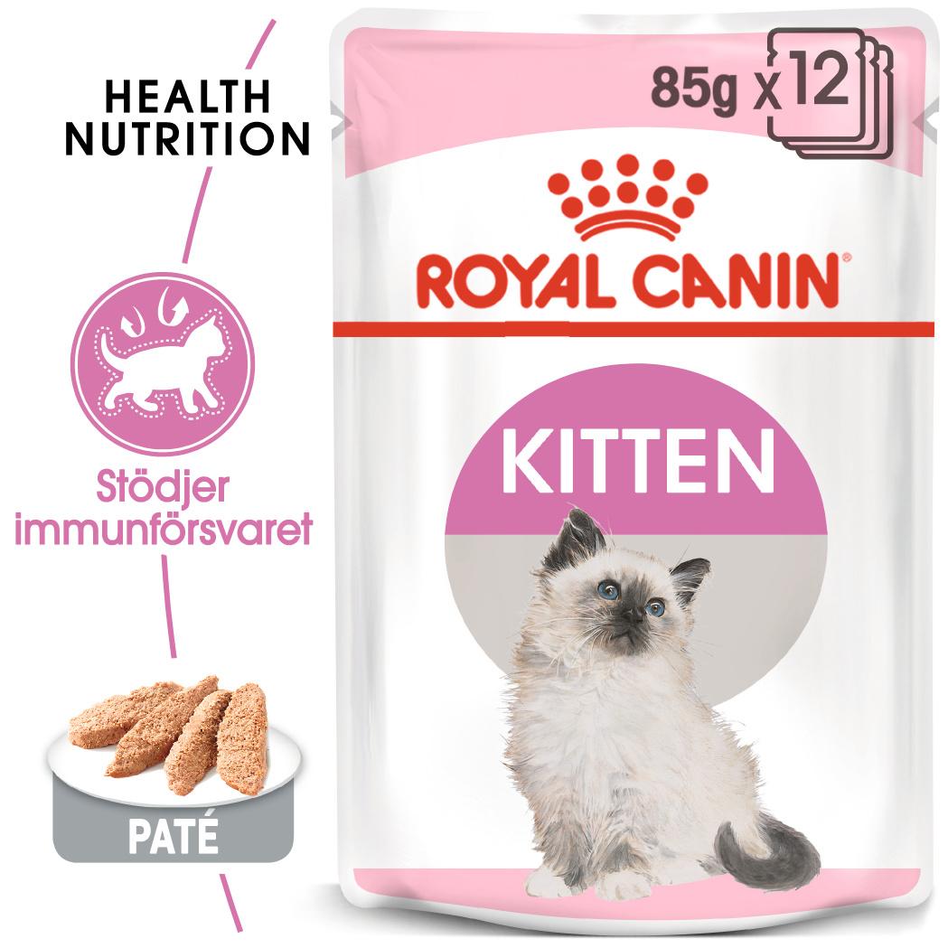 Loaf Kitten Våtfoder för kattunge