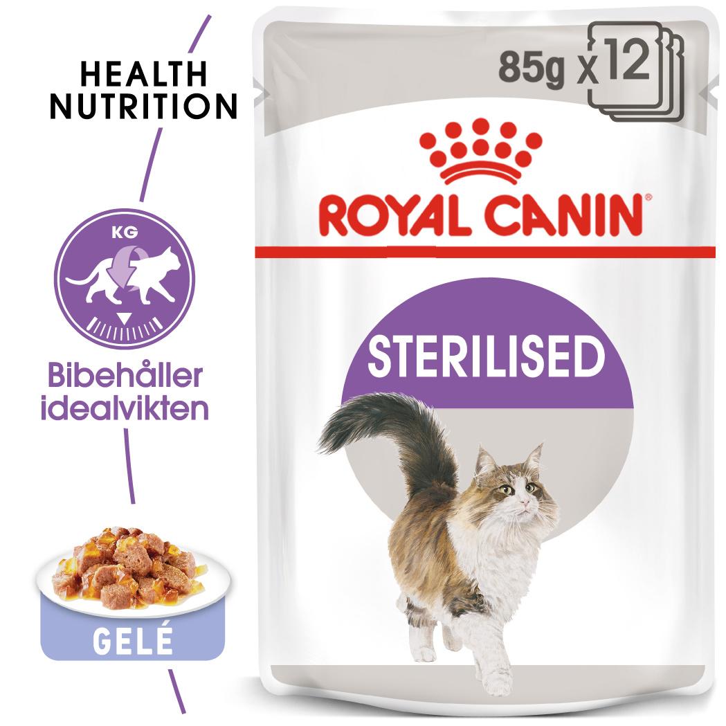 Sterilised Jelly Adult Våtfoder för katt