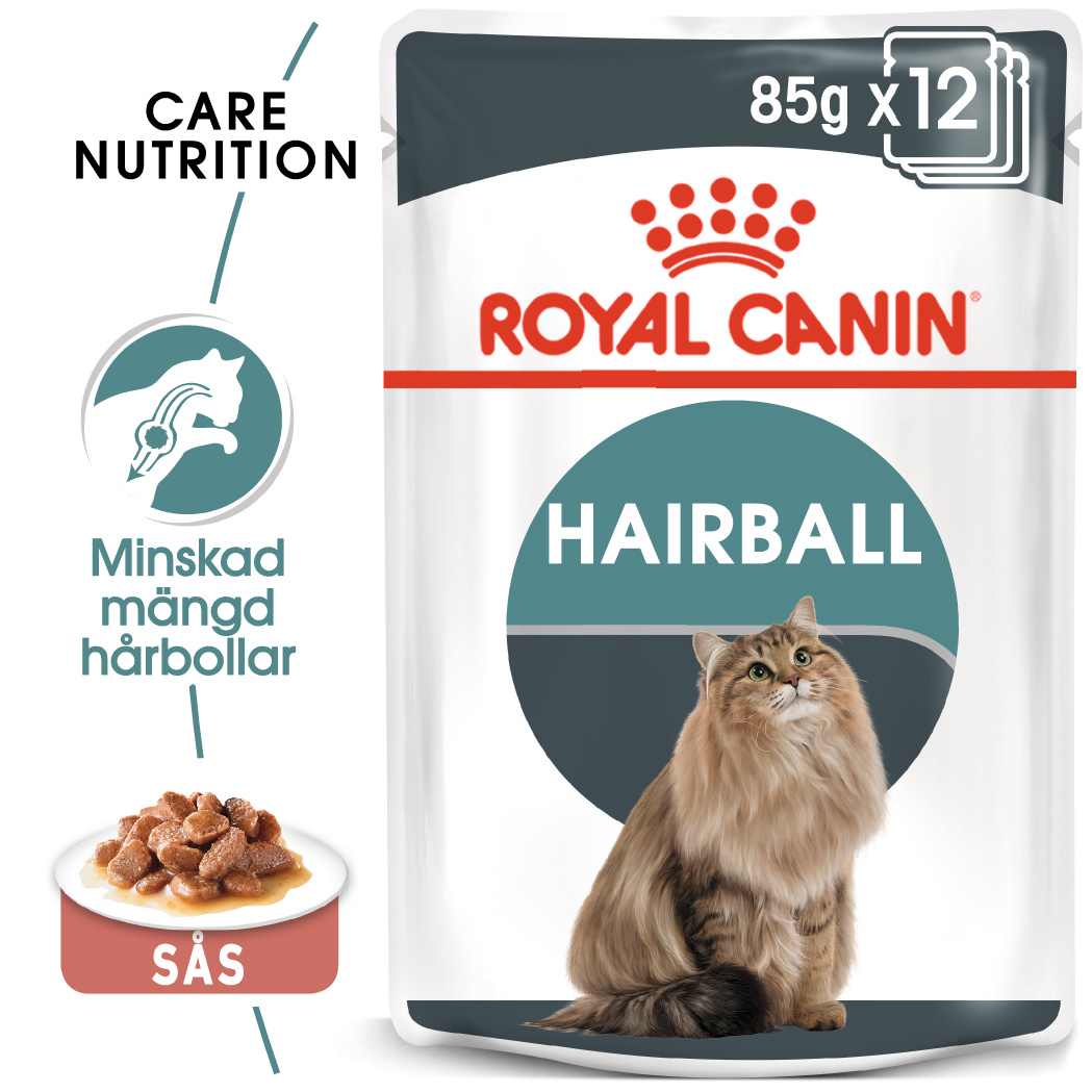 Hairball Care Gravy Adult Våtfoder för katt