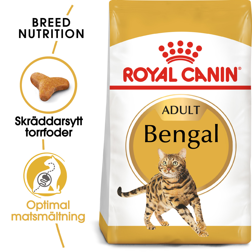 Bengal Adult Torrfoder för katt